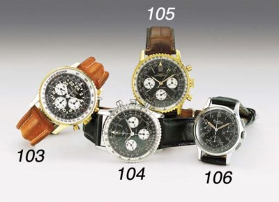 BREITLING, A STAINLESS STEEL W