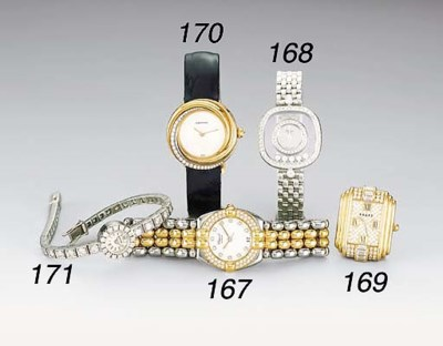 CHOPARD, AN 18K WHITE GOLD AND