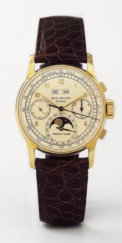 PATEK PHILIPPE, A FINE AND POS