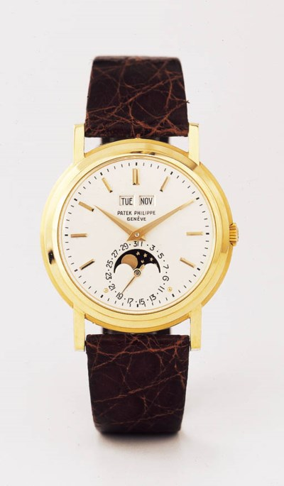 PATEK PHILIPPE, A FINE AND UNI