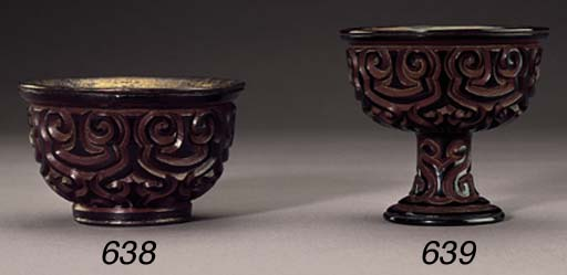 A TIXI LACQUER CUP