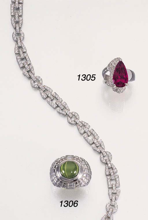 A DIAMOND NECKLACE AND A RUBEL