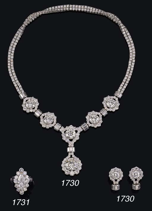 A FINE D/IF DIAMOND AND DIAMON