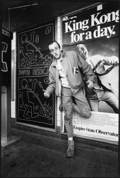 KEITH HARING (1958-1990) AND M