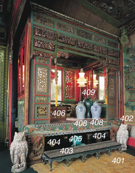 A CHINESE LACQUER CHEST
