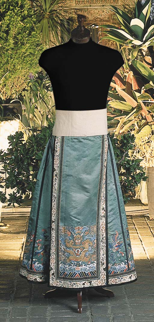 A CHINESE APRON SKIRT