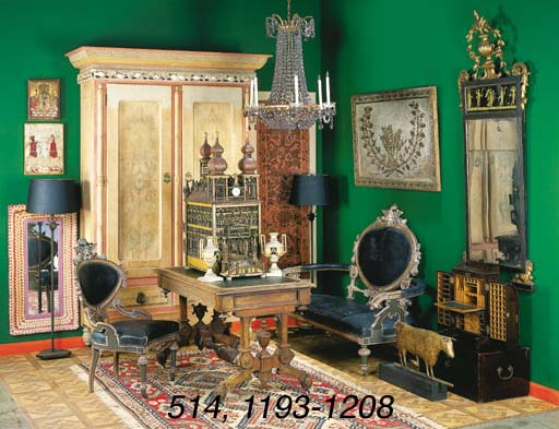 A SUITE OF EGYPTIAN REVIVAL PO