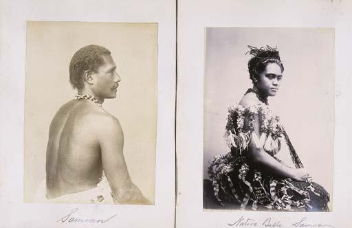 [SAMOA AND NUMEA.] Eight photo