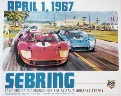 Sebring, 1967 - An original po