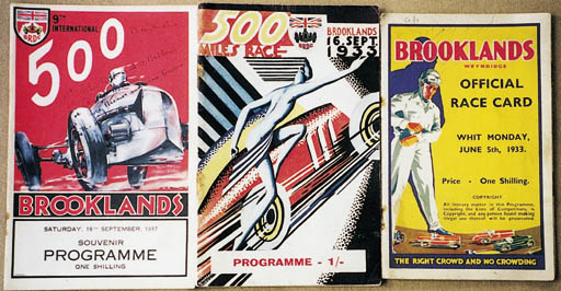 Brooklands - A collection of 6