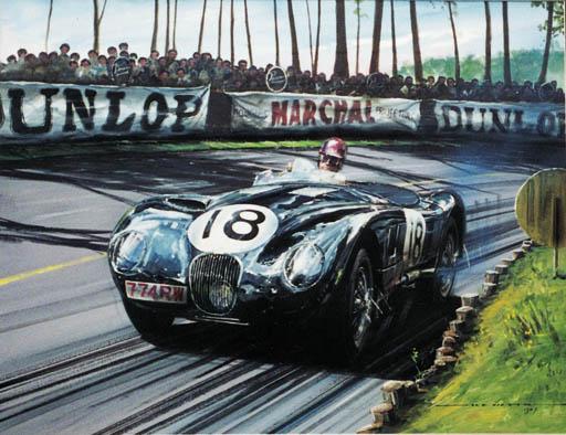 NICHOLAS WATTS - Le Mans, 1953
