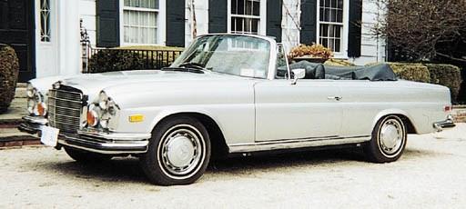 1971 MERCEDES-BENZ 280SE 3.5 C