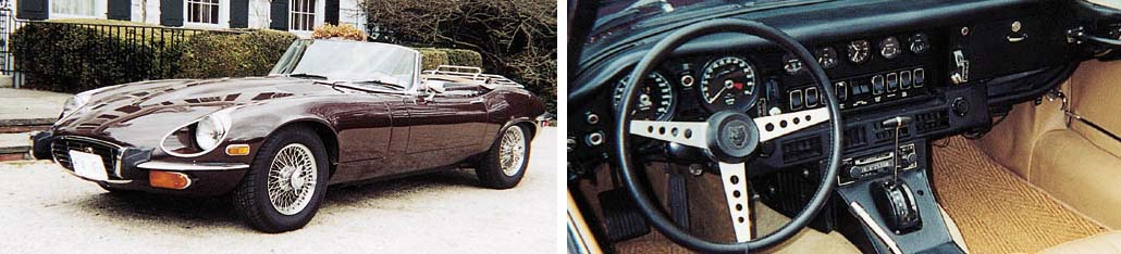 1973 JAGUAR E-TYPE V12 SERIES