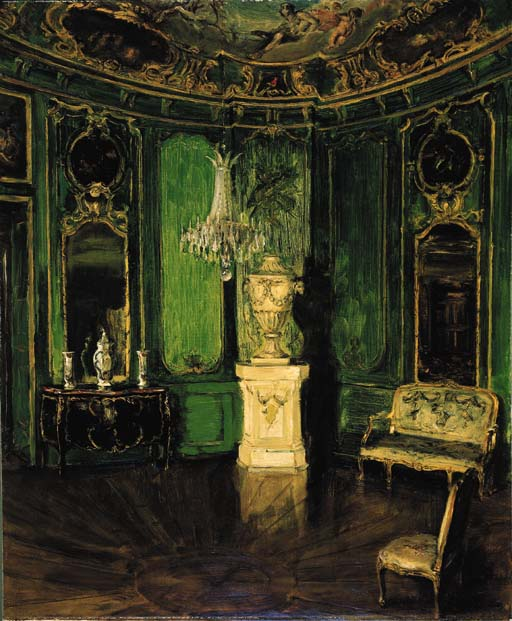 Walter gay 1856 1937 int rieur vert christie 39 s for Interieur queer
