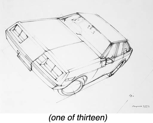 A GROUP OF THIRTEEN DRAWINGS A