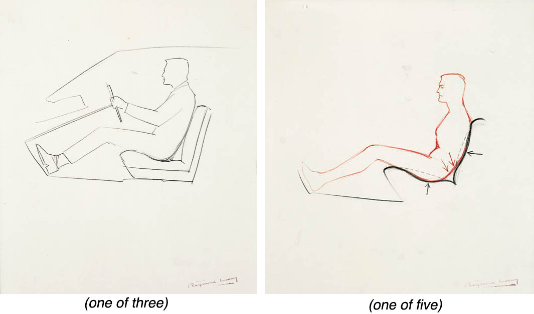 A GROUP OF FIVE STUDIES OF THE