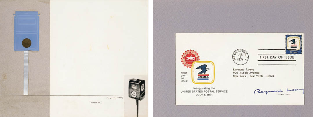 TWO DESIGNS FOR U.S. MAIL