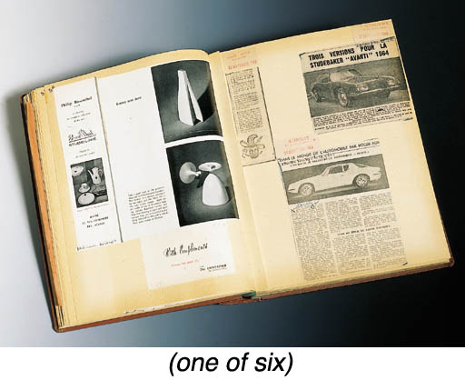 A GROUP OF SIX ALBUMS OF MISCE