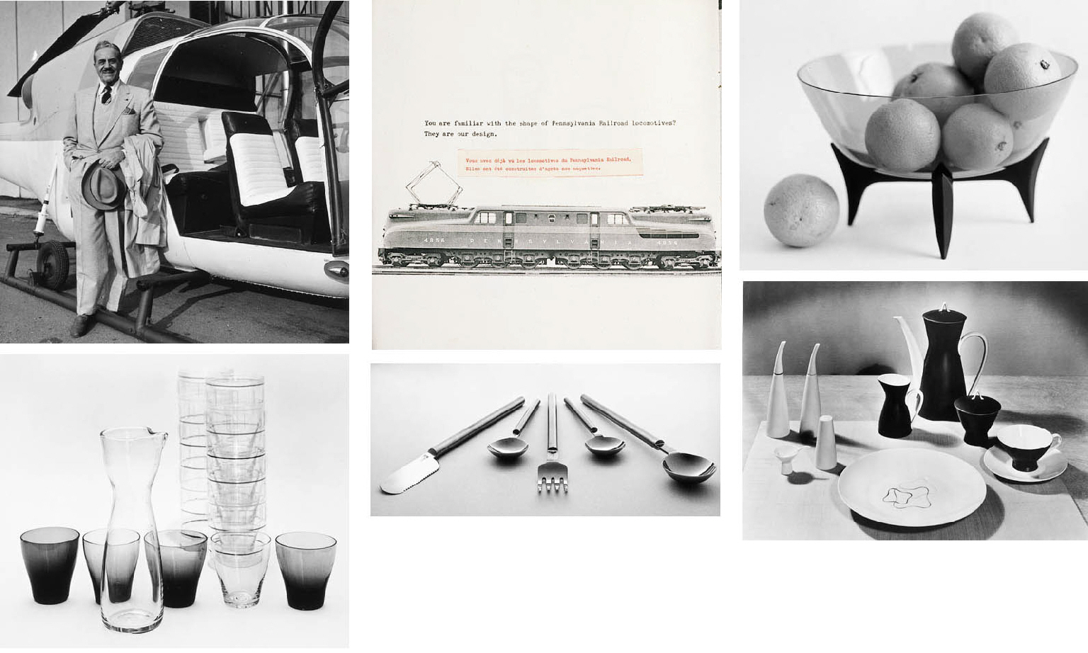 A COLLECTION OF RAYMOND LOEWY
