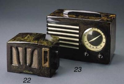 RCA Victor, Tulip grill, Brown