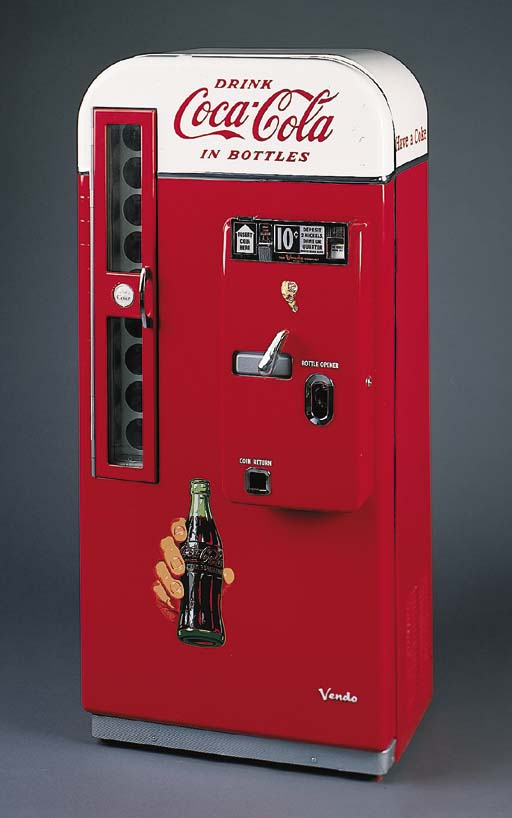 COCA-COLA Vending Machine, Ven