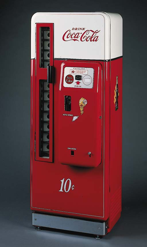 COCA-COLA Vending Machine, Cav