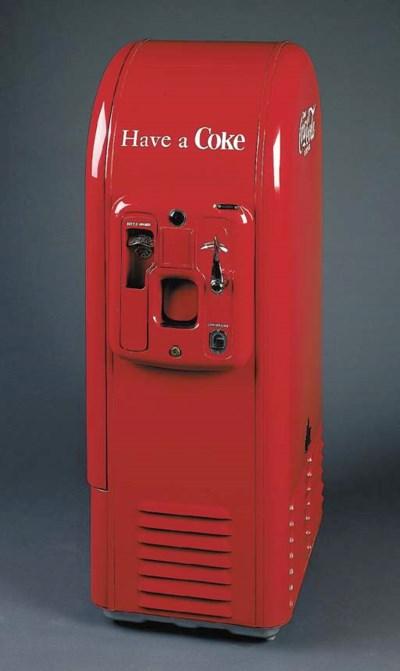 COCA-COLA Vending Machine, Jac