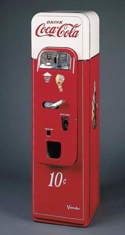 COCA-COLA Vending Machine, Ven