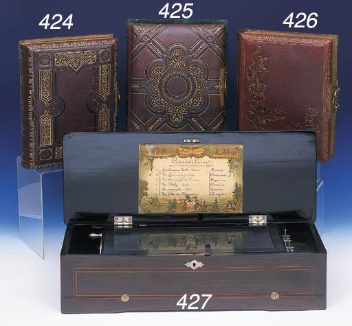 A CONCERTINO MUSICAL BOX