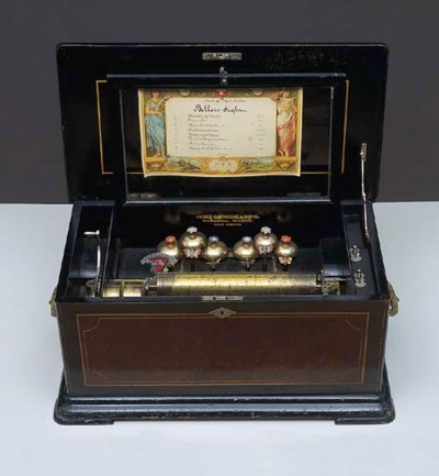 A BELLS IN SIGHT MUSICAL BOX