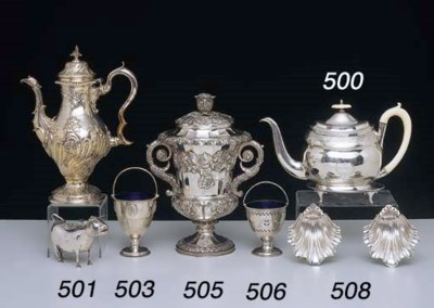 A GEORGE III STERLING SILVER S