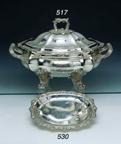 A WILLIAM IV STERLING SILVER S