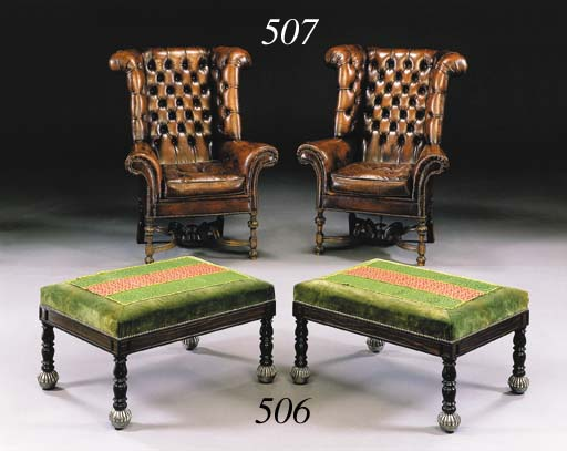 A PAIR OF WILLIAM AND MARY STY