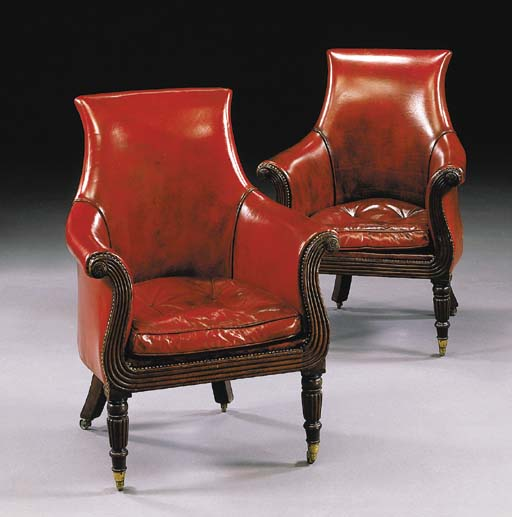 A MATCHED PAIR OF GEORGE IV ST