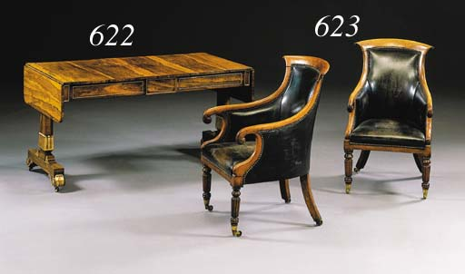 A MATCHED PAIR OF REGENCY STYL