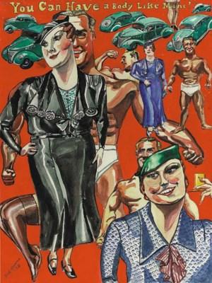 Red Grooms (b. 1937)