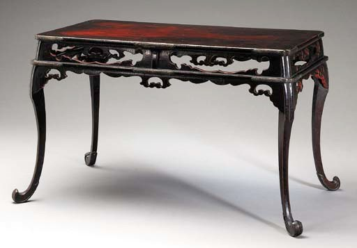 A LACQUER TABLE