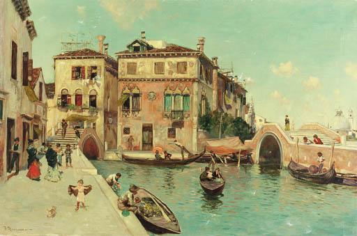 F. Mancusso (Italian, 1862-193