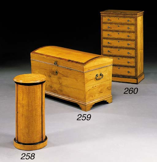 A VICTORIAN SATINWOOD AND KING