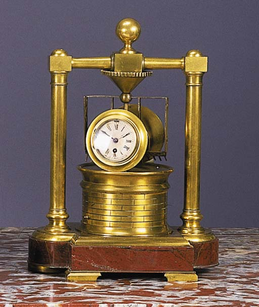 A FRENCH BRASS AUTOMATON INDUS