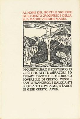 FRANCIS OF ASSISI, Saint. I Fi