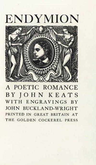 KEATS, John. Endymion. London: