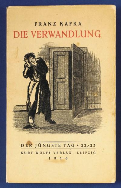 KAFKA, Franz. Die Verwandlung.