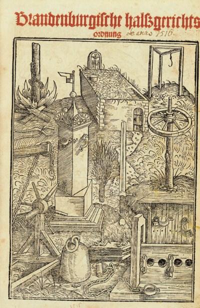 [BAMBERG]. Bambergische Halssg