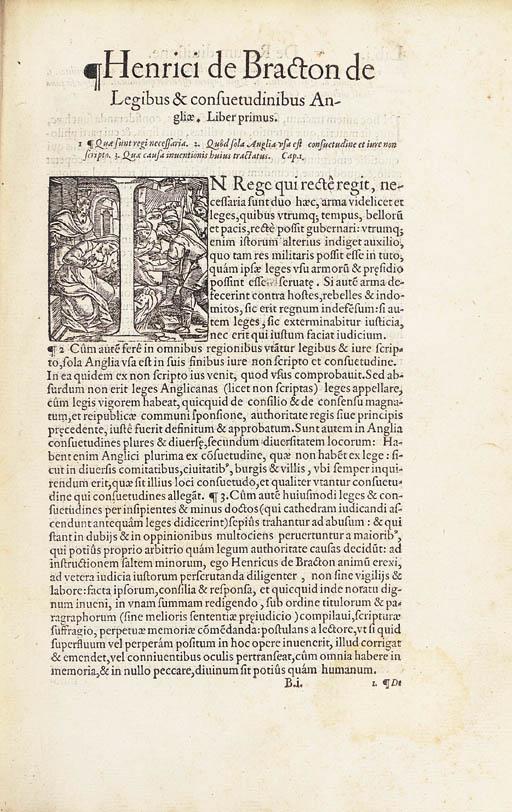 BRACTON, Henricus de (d.1268).