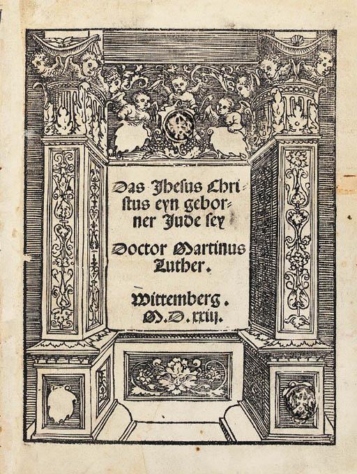 LUTHER, Martin. Das Jhesus Chr