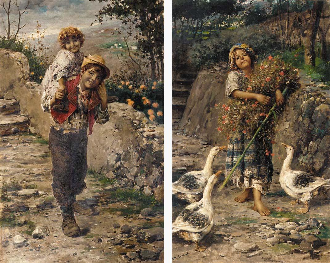 F. Oliva (Italian, 19th/20th C