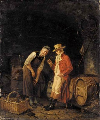 Jan David Col (Belgian, 1822-1
