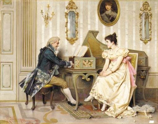 Adriano Cecchi (Italian, 1825-