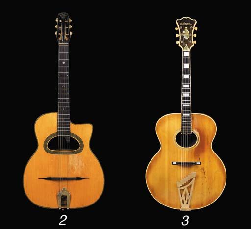 a rare american archtop guitar